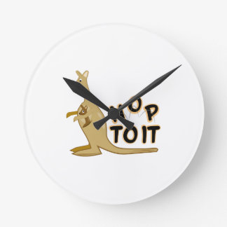 Hop to It Wall Clocks
