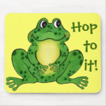 Hop to it - Mousepad