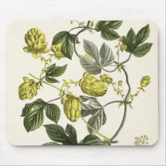 Hop Vine, from 'The Young Landsman', published Vie Mouse Pad