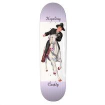 Hopalong Cassidy Skateboard Deck