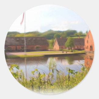 Hopballe Mill Denmark Classic Round Sticker
