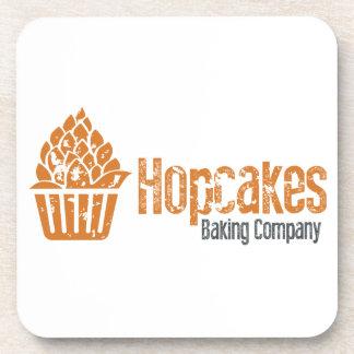 Hopcakes Flagship Logo Beverage Coaster