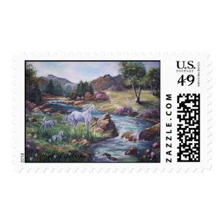 hope 09 260 Art of Hope white Horse Stream Stamps