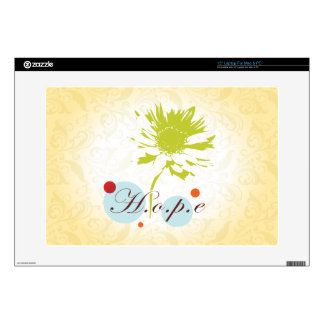 """Hope 15"""" Laptop Decal"""