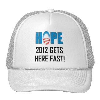 Hope 2012 trucker hat
