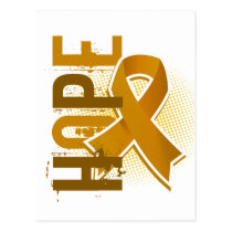 Hope 2 Appendix Cancer Postcard