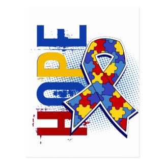Hope 2 Autism Postcard