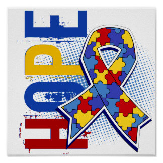 Hope 2 Autism Poster