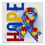 Hope 2 Autism Posters