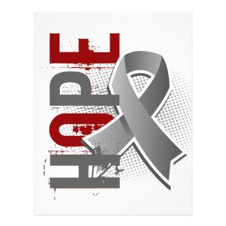 "Hope 2 Brain Cancer 8.5"" X 11"" Flyer"