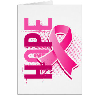 Hope 2 Breast Cancer Card
