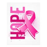 Hope 2 Breast Cancer Custom Flyer