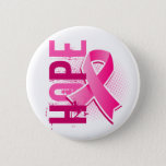 "Hope 2 Breast Cancer Pinback Button<br><div class=""desc"">To see this design for additional causes as well as the complete Awareness Gift Boutique Collection of exclusive Breast Cancer Awareness and Support designs, please visit our Breast Cancer Section at Make a statement for Breast Cancer awareness with our grunge-style Breast Cancer &quot;HOPE&quot; t-shirts, apparel, and gifts featuring distressed text...</div>"