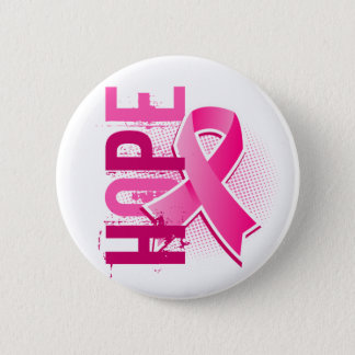 Hope 2 Breast Cancer Pinback Button