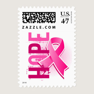 Hope 2 Breast Cancer Postage