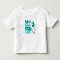 Hope 2 Cervical Cancer Toddler T-shirt
