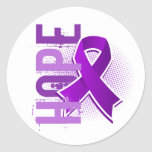 Hope 2 Chiari Malformation Round Sticker
