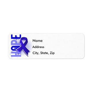 Hope 2 Colon Cancer Label