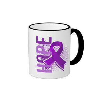 Hope 2 Crohn's Disease Ringer Coffee Mug