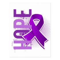Hope 2 Crohn's Disease Postcard