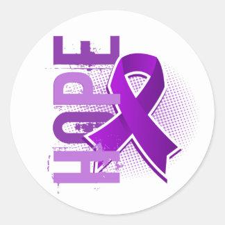 Hope 2 Epilepsy Classic Round Sticker