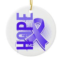 Hope 2 Esophageal Cancer Ceramic Ornament