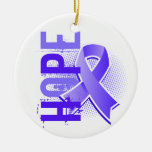 Hope 2 Esophageal Cancer Christmas Ornament