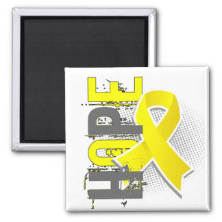 Hope 2 Hydrocephalus 2 Inch Square Magnet
