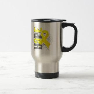 Hope 2 Hydrocephalus 15 Oz Stainless Steel Travel Mug