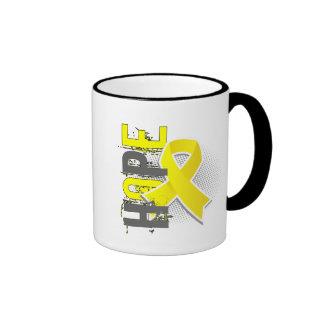Hope 2 Hydrocephalus Ringer Coffee Mug