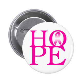 Hope 2 Inch Round Button