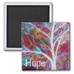 Hope 2 Inch Square Magnet