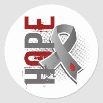Hope 2 Juvenile Diabetes Classic Round Sticker