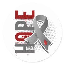 Hope 2 Juvenile Diabetes Classic Round Sticker