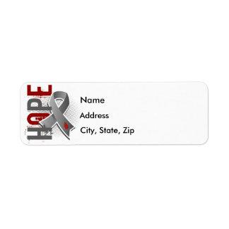 Hope 2 Juvenile Diabetes Label