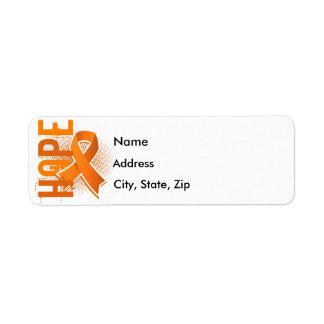 Hope 2 Leukemia Label