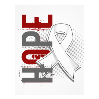 """Hope 2 Lung Cancer 8.5"""" X 11"""" Flyer"""