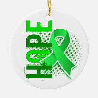 Hope 2 Lyme Disease Christmas Ornaments