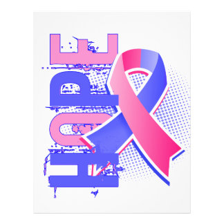 """Hope 2 Male Breast Cancer 8.5"""" X 11"""" Flyer"""