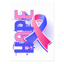 Hope 2 Male Breast Cancer Postcard