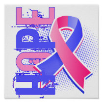 Hope 2 Male Breast Cancer Poster