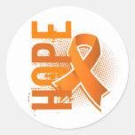 Hope 2 MS Classic Round Sticker