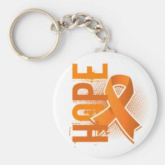 Hope 2 MS Basic Round Button Keychain