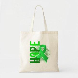 Hope 2 Non-Hodgkin's Lymphoma Canvas Bags