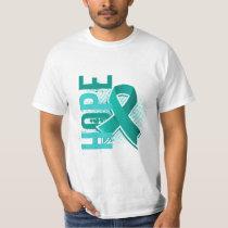Hope 2 Ovarian Cancer T-Shirt