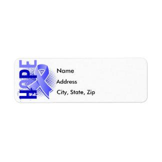 Hope 2 Prostate Cancer Label