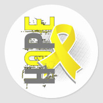 Hope 2 Sarcoma Classic Round Sticker