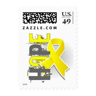 Hope 2 Testicular Cancer Postage Stamp