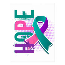 Hope 2 Thyroid Cancer Postcard