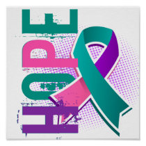 Hope 2 Thyroid Cancer Poster